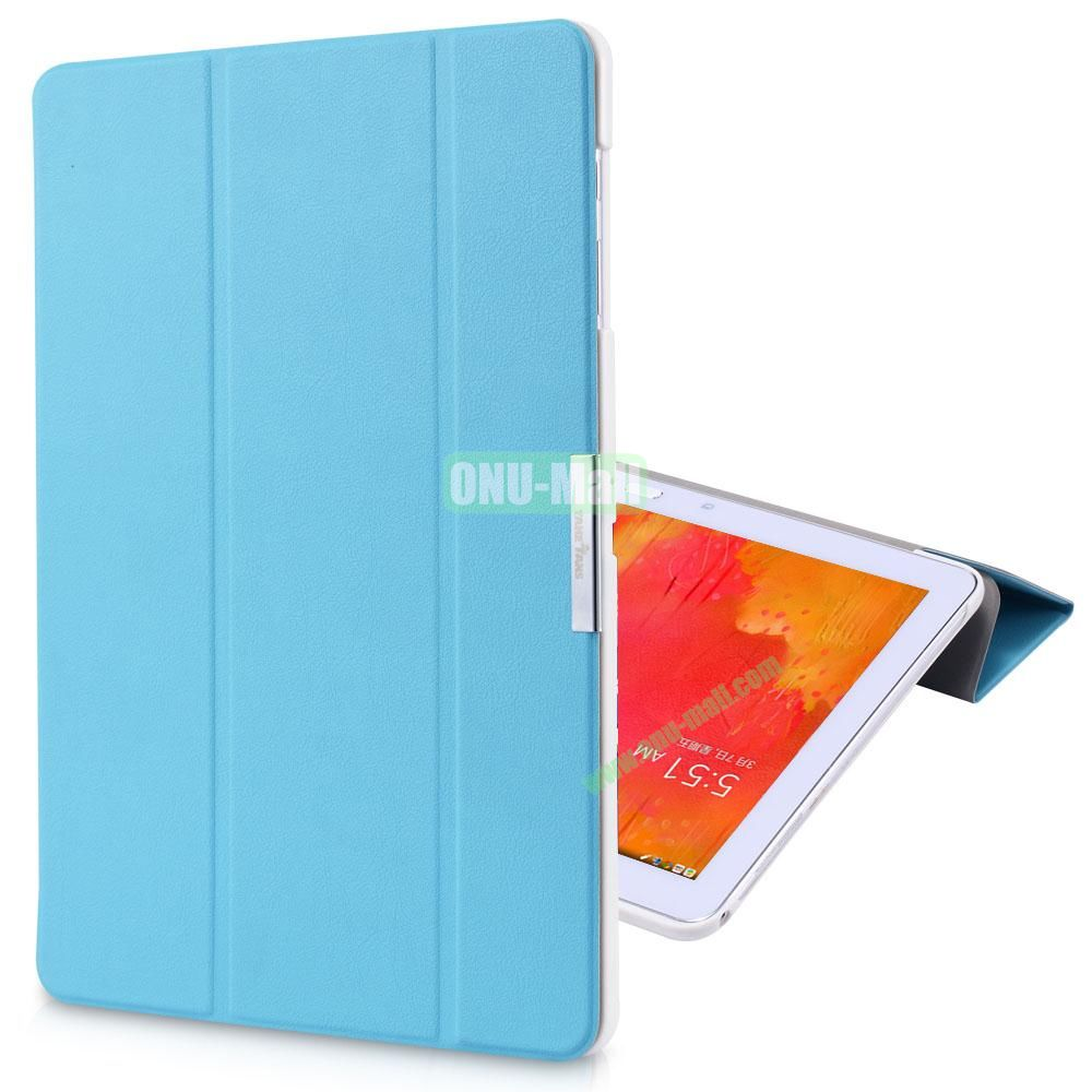 TakeFans Charm Series Stand Leather Cover for Samsung Galaxy Note Pro 12.2 P900 (Blue)