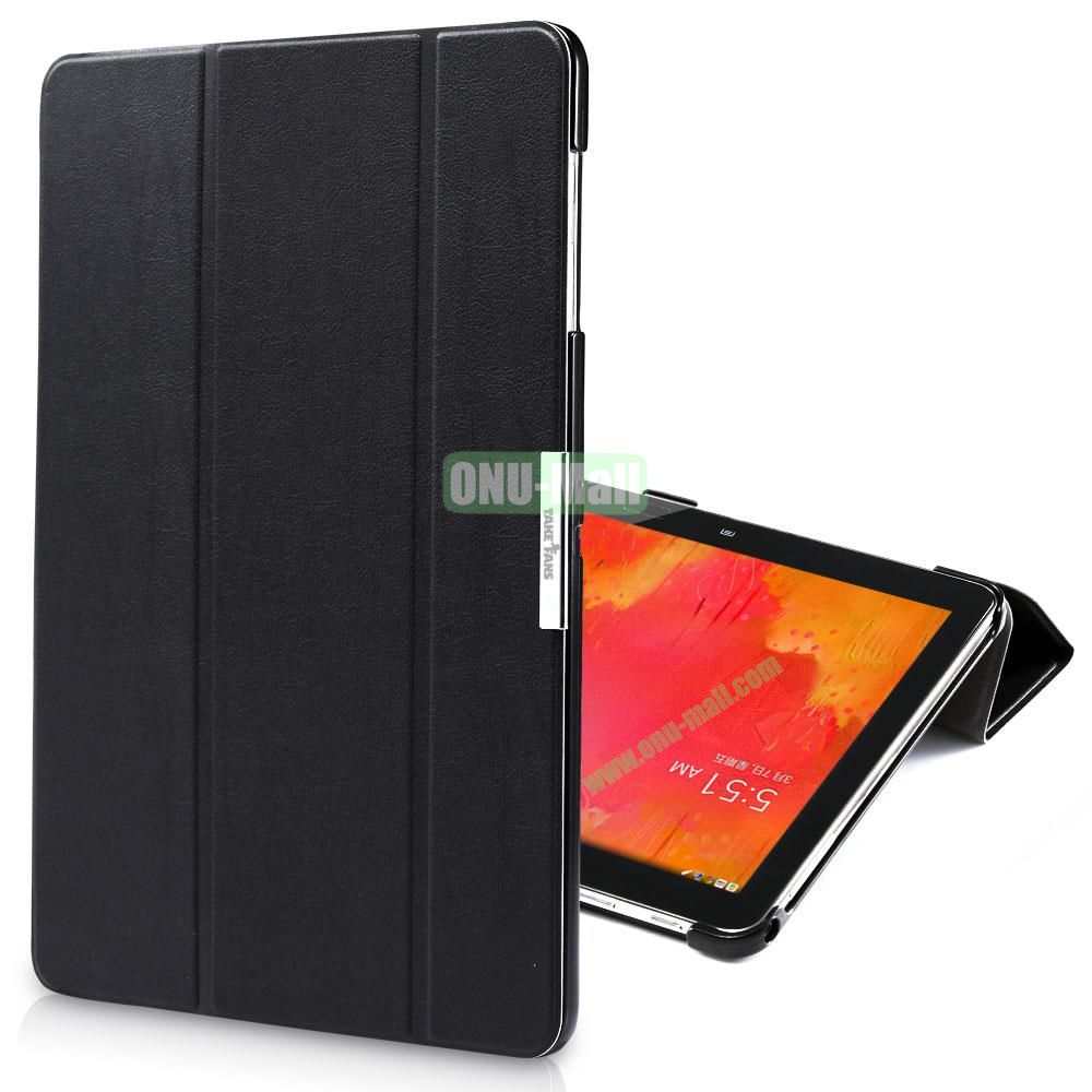 TakeFans Charm Series Stand Leather Cover for Samsung Galaxy Note Pro 12.2 P900 (Black)