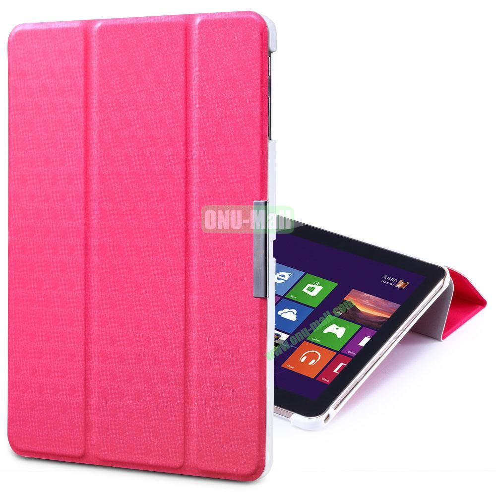 TakeFans Charm Series Flip Leather Cover for Samsung Galaxy Tab 3 Lite T110 T111 (Red)