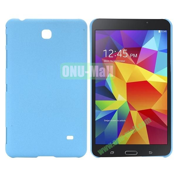 Quicksand Frosted PC Hard Case for Samsung Galaxy Tab 4 7.0 T230 (Baby Blue)