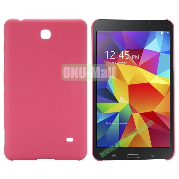 Quicksand Frosted PC Hard Case for Samsung Galaxy Tab 4 7.0 T230 (Rose)