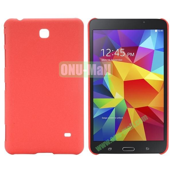 Quicksand Frosted PC Hard Case for Samsung Galaxy Tab 4 7.0 T230 (Red)