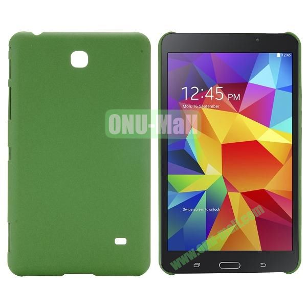 Quicksand Frosted PC Hard Case for Samsung Galaxy Tab 4 7.0 T230 (Green)