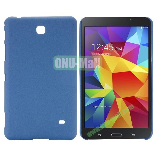 Quicksand Frosted PC Hard Case for Samsung Galaxy Tab 4 7.0 T230 (Dark Blue)