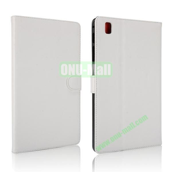 Korean Style Magnetic Flip Leather Case for Samsung Galaxy Tab Pro 8.4 T320 (White)