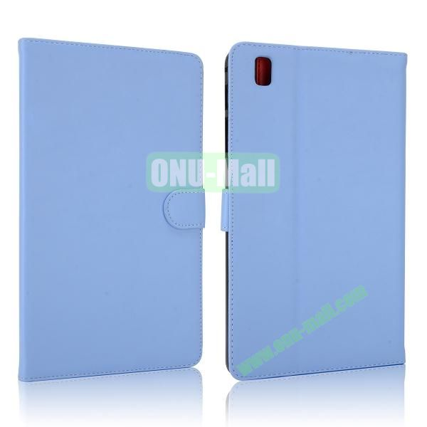 Korean Style Magnetic Flip Leather Case for Samsung Galaxy Tab Pro 8.4 T320 (Light Blue)
