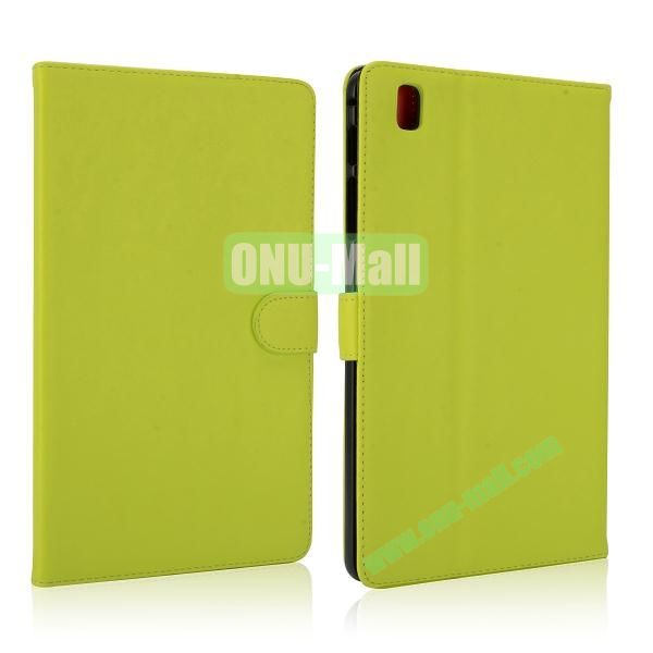 Korean Style Magnetic Flip Leather Case for Samsung Galaxy Tab Pro 8.4 T320 (Green)
