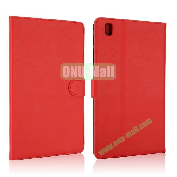 Korean Style Magnetic Flip Leather Case for Samsung Galaxy Tab Pro 8.4 T320 (Red)