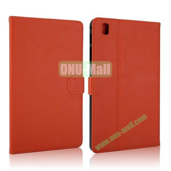 Korean Style Magnetic Flip Leather Case for Samsung Galaxy Tab Pro 8.4 T320 (Orange)