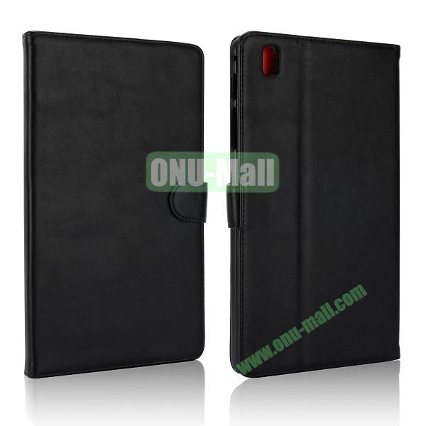 Korean Style Magnetic Flip Leather Case for Samsung Galaxy Tab Pro 8.4 T320 (Black)