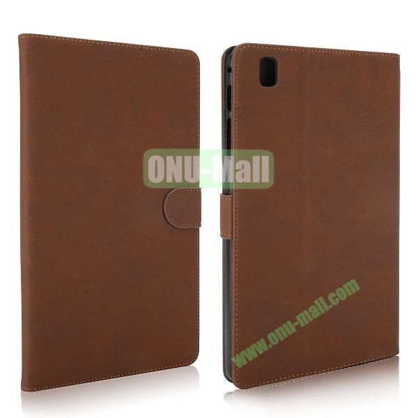 Vintage Style Leather Stand Flip Case with Magneticfor Samsung Galaxy Tab Pro 8.4  T320 (Coffee)