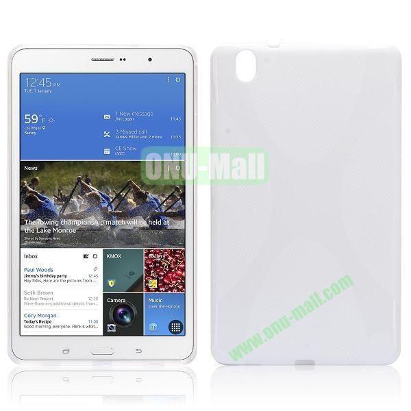 X-Shape TPU Case for Samsung Galaxy Tab Pro 8.4  T320 (White)