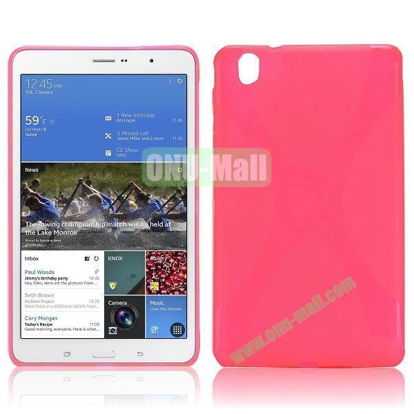 X-Shape TPU Case for Samsung Galaxy Tab Pro 8.4  T320 (Rose)