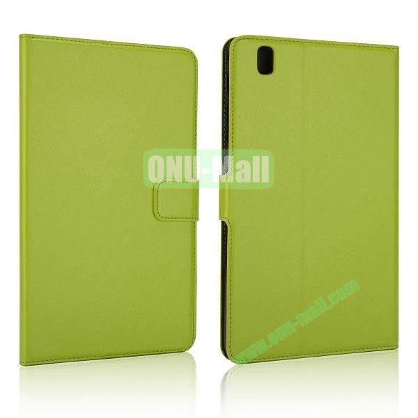 Crazy Horse Flip PC + Leather Case for Samsung Galaxy Tab Pro 8.4  T320 with Card Slots (Green)