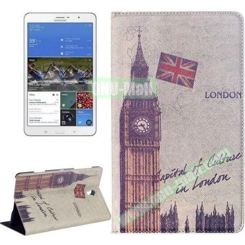 London Big Ben Pattern Flip Leather Case for Samsung Galaxy Tab S 8.4 T700 with Holder