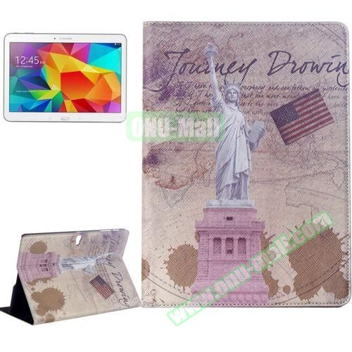 Places of Interest Design Flip Leather Case for Samsung Galaxy Tab S 10.5 T800 (Victory)