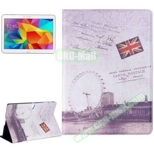 Places of Interest Design Flip Leather Case for Samsung Galaxy Tab S 10.5 T800 (London Eyes)