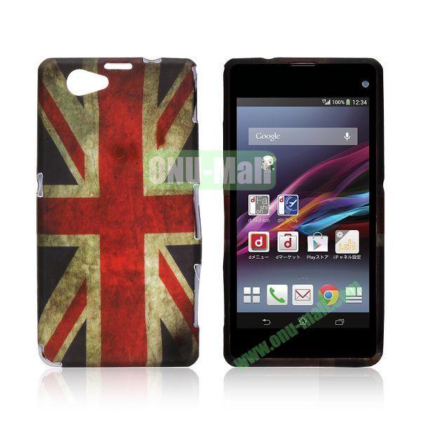 UK Flag Pattern TPU Case for Sony Xperia Z1 Mini