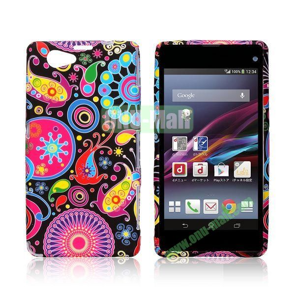 Colorized Fish Pattern TPU Case for Sony Xperia Z1 Mini