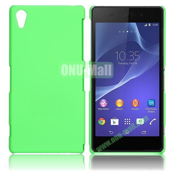 Solid Color Hard Case for Sony Xperia Z2  L50W  D6502  D6503 (Green)