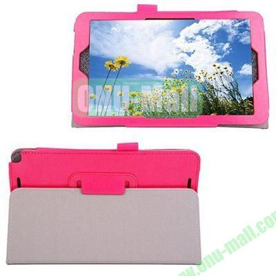 High-quality Leather Case with Holder for Samsung Galaxy TabPro 8.4 (Rose)