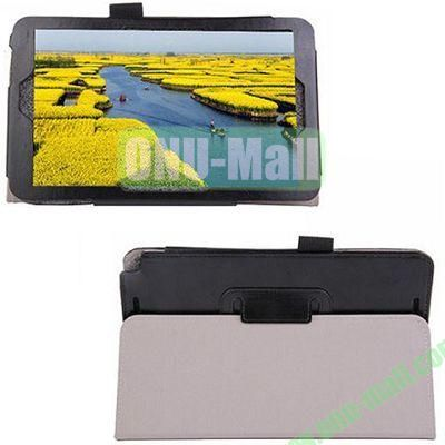 High-quality Leather Case with Holder for Samsung Galaxy TabPro 8.4 (Black)