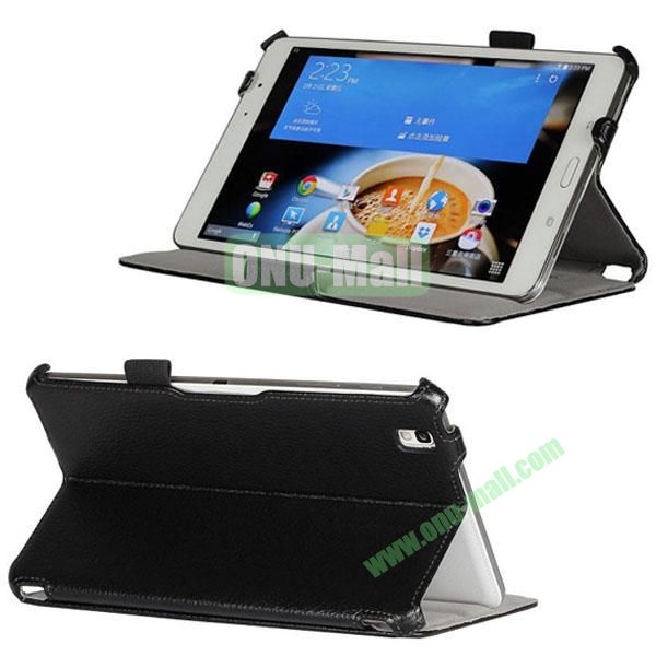 Litchi Texture Thermoforming Leather Case Smart Cover for Samsung Galaxy Tab Pro 8.4