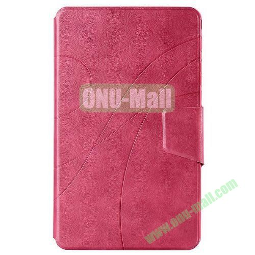 Crazy Horse Texture Leather Case for Samsung Galaxy Tab Pro 8.4 with Stand (Pink)