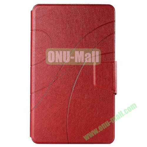 Crazy Horse Texture Leather Case for Samsung Galaxy Tab Pro 8.4 with Stand (Red)