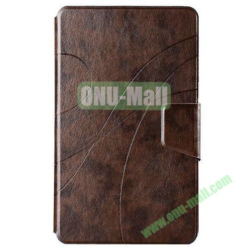 Crazy Horse Texture Leather Case for Samsung Galaxy Tab Pro 8.4 with Stand (Brown)
