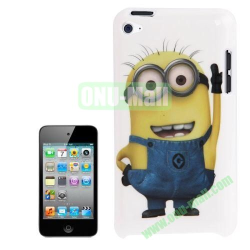 2014 Newest TPU Case For Touch 4 Minions Pattern TPU Case