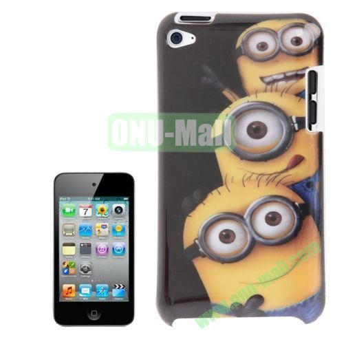 2014 Newest TPU Case For iPod Touch 4 Minions Pattern TPU Case