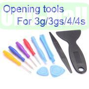 10 in 1 Multi Functional Opening Tools Kit for iPhone 3G3GS4G4GS, NDS, PSP No.1202