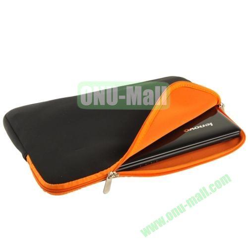 Soft Sleeve Zipper Bag for 14 inch Laptop (Orange)