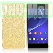 Shimmering Glitter Powder PC Hard Case for Sony Xperia Z2L50W D6502 D6503 (Gold)