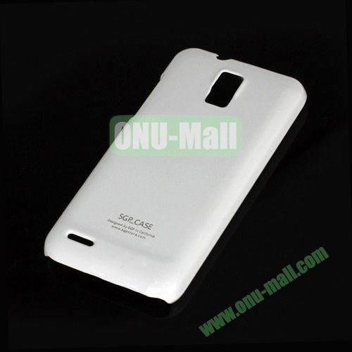Ultra Thin Glossy Hard Case for ZTE V995 Blade G V880G N880G (White)