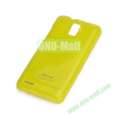 Ultra Thin Glossy Hard Case for ZTE V995 Blade G V880G N880G (Yellow)