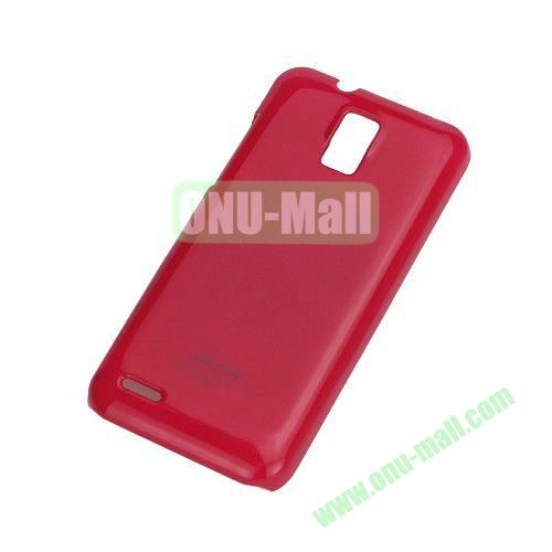 Ultra Thin Glossy Hard Case for ZTE V995 Blade G V880G N880G (Red)