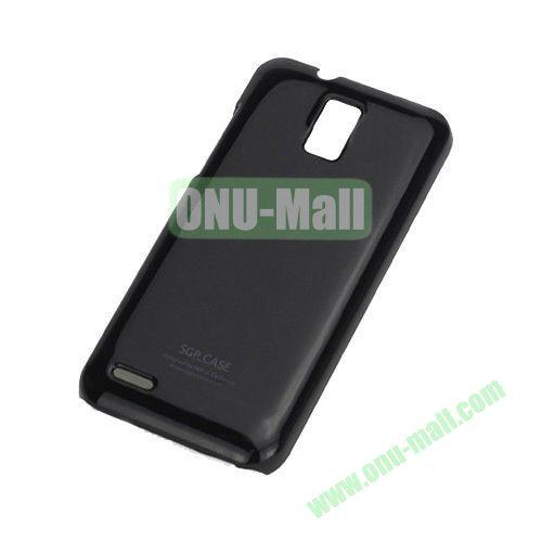 Ultra Thin Glossy Hard Case for ZTE V995 Blade G V880G N880G (Black)
