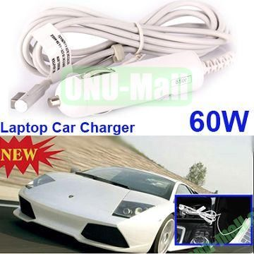 16.5V 3.65A 60W Laptop Car Charger Adapter for Apple Macbook Pro