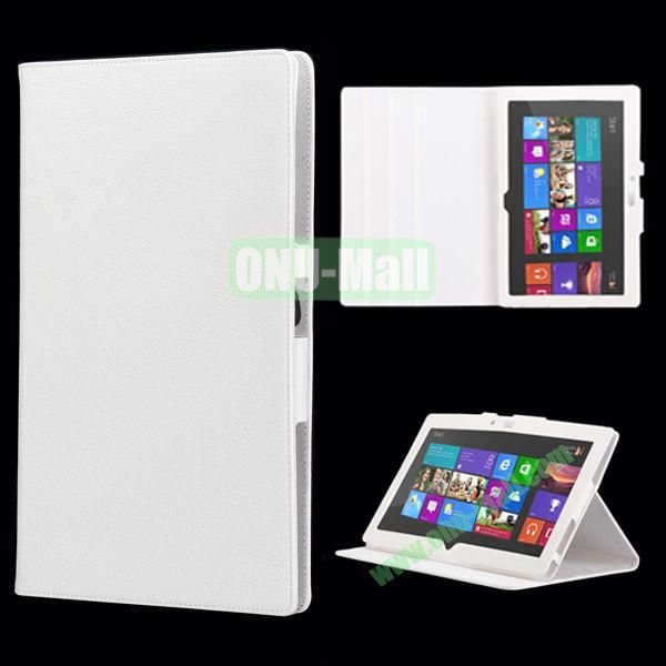 Wholesale Leather Case Cover With Stand For Microsoft Surface RT (White)