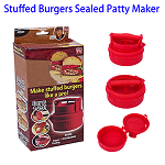 As Seen On TV Convenient Stuffed Burgers Sealed Patty Maker