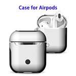 New Trending 2 in 1 TPU+PC Case for AirPods Headphone (White)