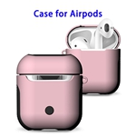 New Trending 2 in 1 TPU+PC Case for AirPods Headphone (Pink)