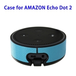 Wall Mount Stand Guard Holder for Amazon Echo Dot 2nd (Blue)