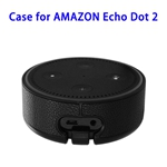 Wall Mount Stand Guard Holder for Amazon Echo Dot 2nd (Black)
