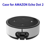 Wall Mount Stand Guard Holder for Amazon Echo Dot 2nd (White)
