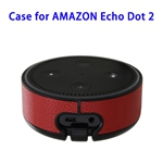 Wall Mount Stand Guard Holder for Amazon Echo Dot 2nd (Red)