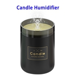 New Arrival Delicate Stylish 280ML Candlestick USB Air Humidifier (Black)