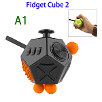 12 Sides Anti-anxiety and Depression Fidget Cube Toys 2 for Adults (A1)